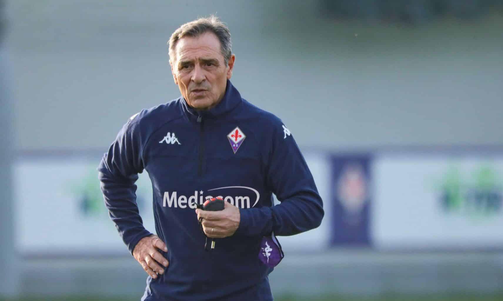 Cesare Prandelli, allenatore della Fiorentina