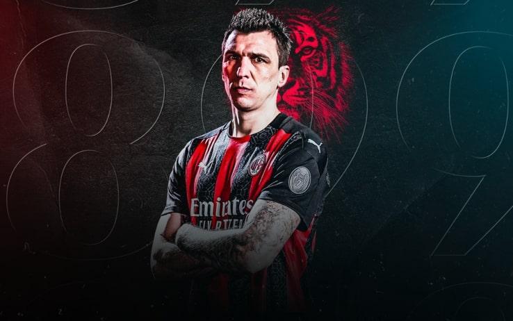 Mario Mandzukic, nuovo attaccante del Milan