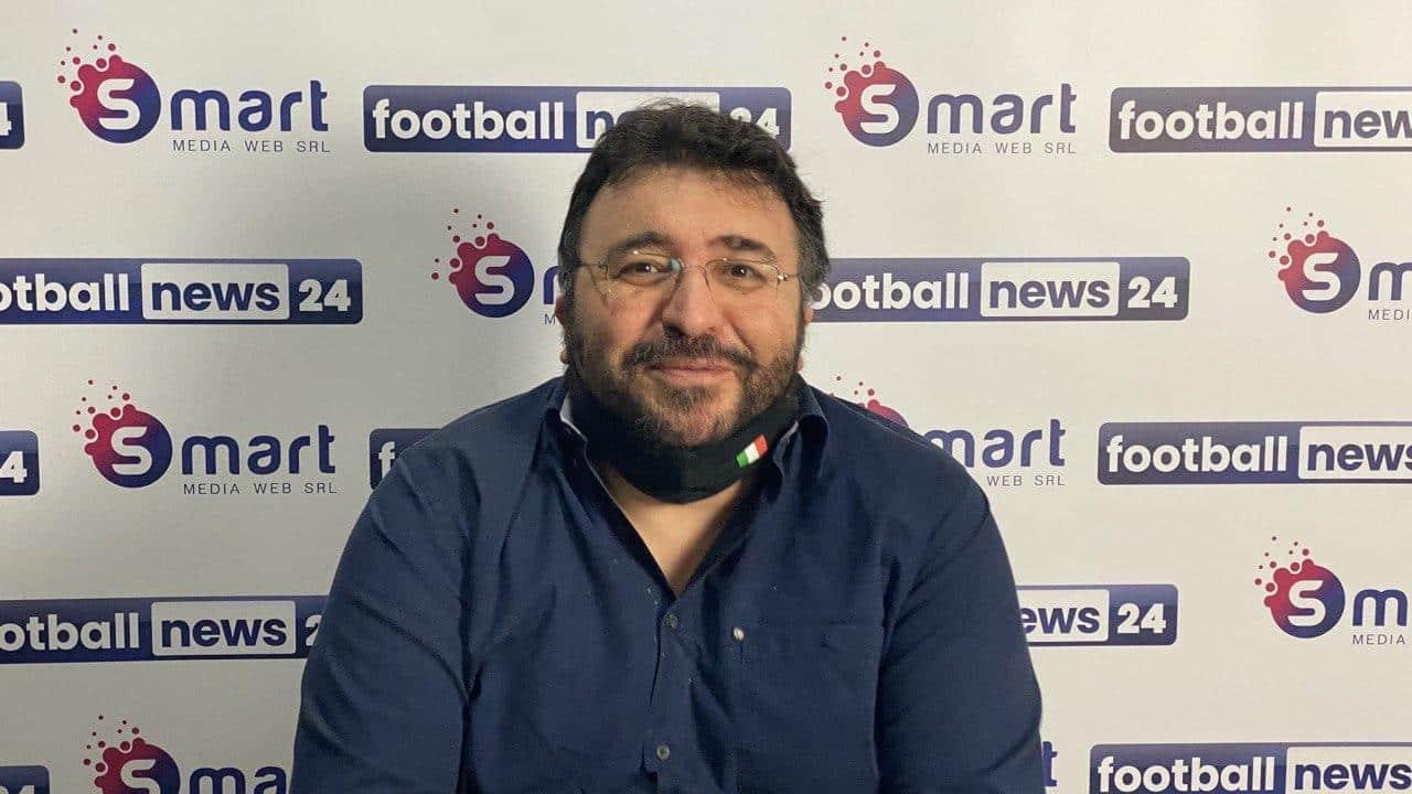Andrea Felici, giornalista di Footballnews24 e conduttore di Roma Time
