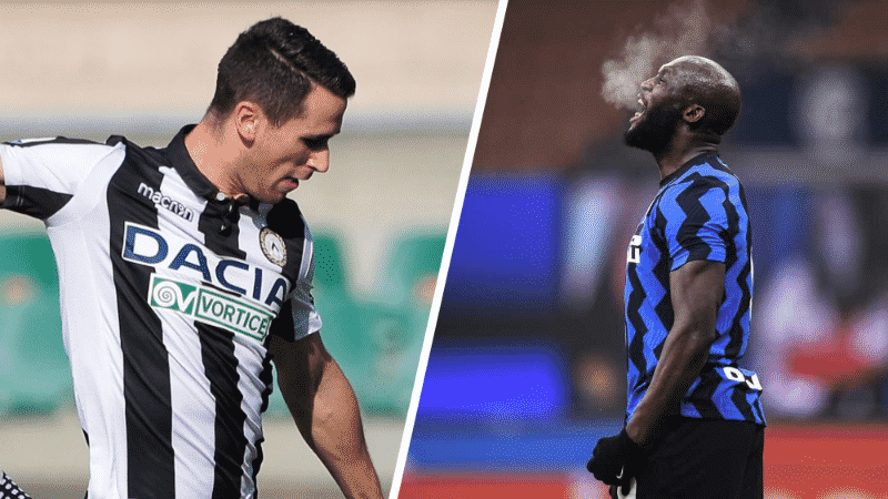 Udinese-Inter, Serie A