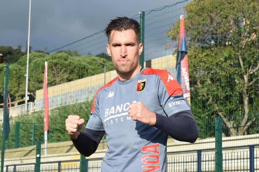 Kevin Strootman, centrocampista del Genoa